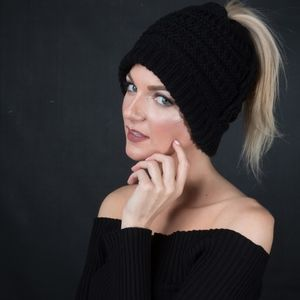 Unisex Colorful Knit Beanies  Warm Wool hat